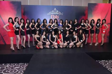 Top 25 finalists of Fbb Femina Miss India 2014