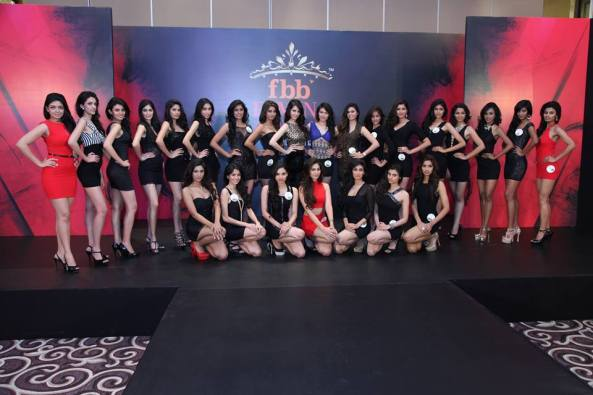 Top 25 finalists of Fbb Femina Miss India 2014