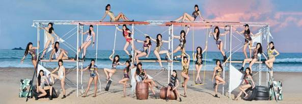Top 25 contetestants of Miss India 2014 in group Swimsuit photoshoot