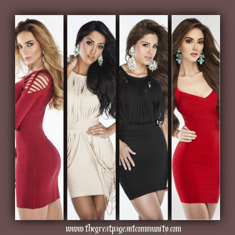 Miss Venezuela 2015 Mid Length Photos