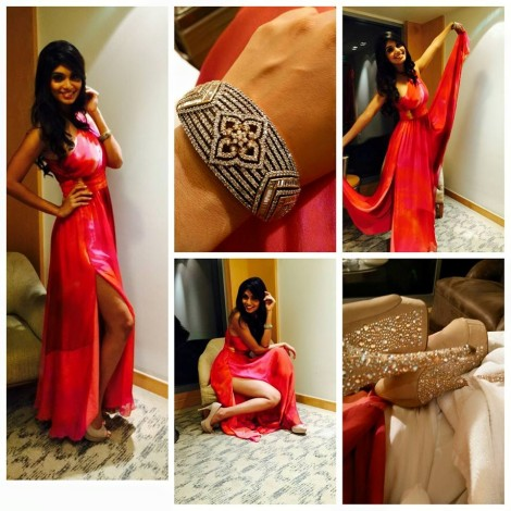 Aafreen Vaz Femina Miss India 2015