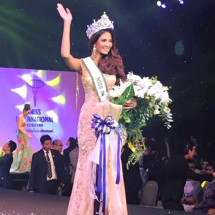 Sasi Sintawee is Miss International Thailand 2015