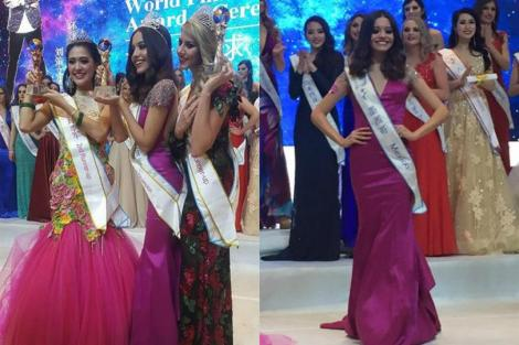 Maria Fernanda Valenzuela Gaxiola from Mexico is Miss All Nations 2015