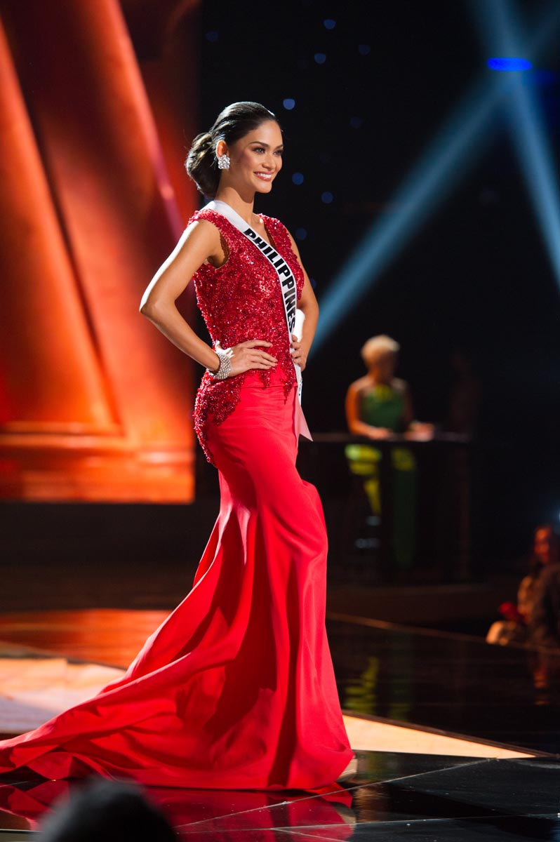 miss universe 2015 preliminary evening gown top 10