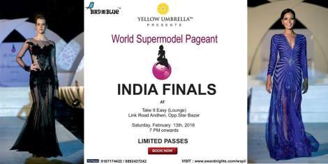 World Supermodel India 2016 Contestants