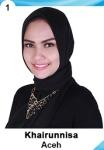 KHAIRUNNISA ZAKARIA IS A CONTESTANT AT PUTERI INDONESIA 2016