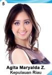 AGITA MARYALDA IS A CONTESTANT AT PUTERI INDONESIA 2016