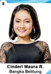 CINDERI MAURA RESTU IS A CONTESTANT AT PUTERI INDONESIA 2016