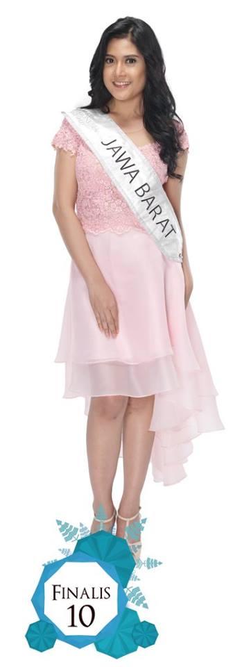 Zahra Amalina  is representing JAWA BARAT at Miss Indonesia 2016