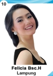 FELICIA HWANG IS A CONTESTANT AT PUTERI INDONESIA 2016