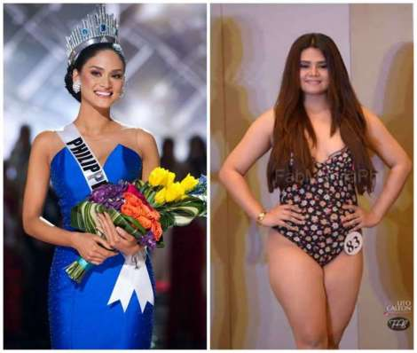 Pia Wurtzbach defends Bb. Pilipinas aspirant after getting bashed online because of her weight