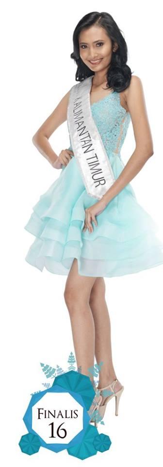 Tasya Yaumil Amalia is representing KALIMANTAN TIMUR at Miss Indonesia 2016