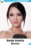 BELDA AMELIA IS A CONTESTANT AT PUTERI INDONESIA 2016