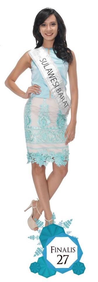 Yunike Hari Fransisca is representing SULAWESI BARAT at Miss Indonesia 2016