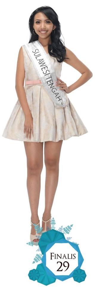 Vanya Oetomo  is representing SULAWESI TENGAH at Miss Indonesia 2016