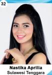 NASTIKA APRILIA IS A CONTESTANT AT PUTERI INDONESIA 2016