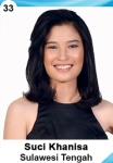 SUCI KHANISA IS A CONTESTANT AT PUTERI INDONESIA 2016