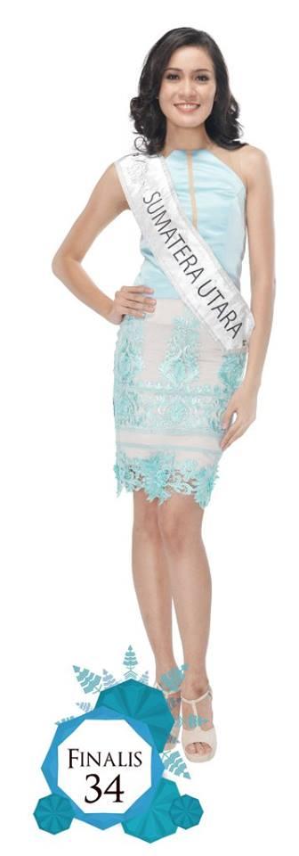 Dian Bernika Silalahi  is representing SUMATERA UTARA at Miss Indonesia 2016