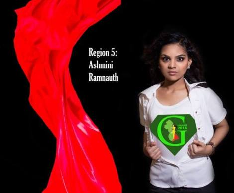 Ashmini Ramnauth  is a contestant of Miss World Guyana 2016