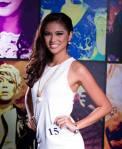 Binibini 15- KRISTINE ANGELI Q. ESTOQUE during Binibining Pilipinas 2016 Official Shots