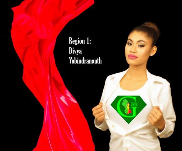 Divya Yabindranauth is a contestant of Miss World Guyana 2016