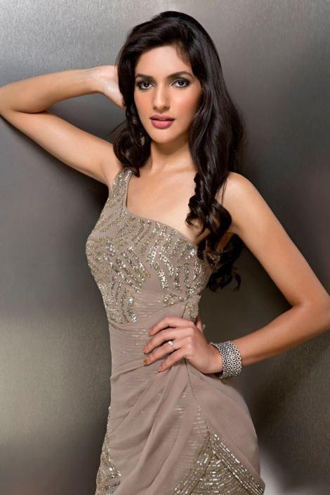 Natasha Singh during Femina Miss India Delhi 2016 Glam Shots