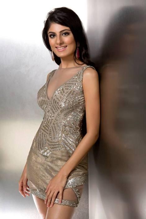 Niharika Anand during Femina Miss India Delhi 2016 Glam Shots