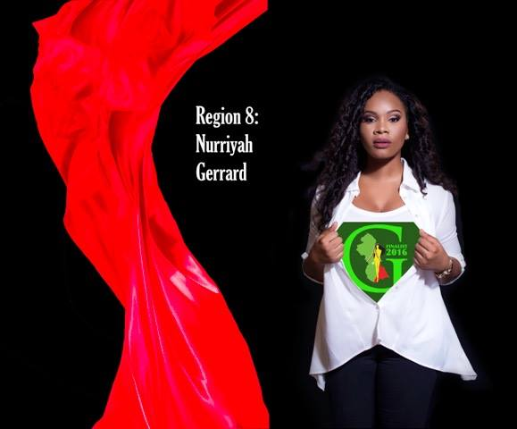 Nurriyah Gerrard  is a contestant of Miss World Guyana 2016