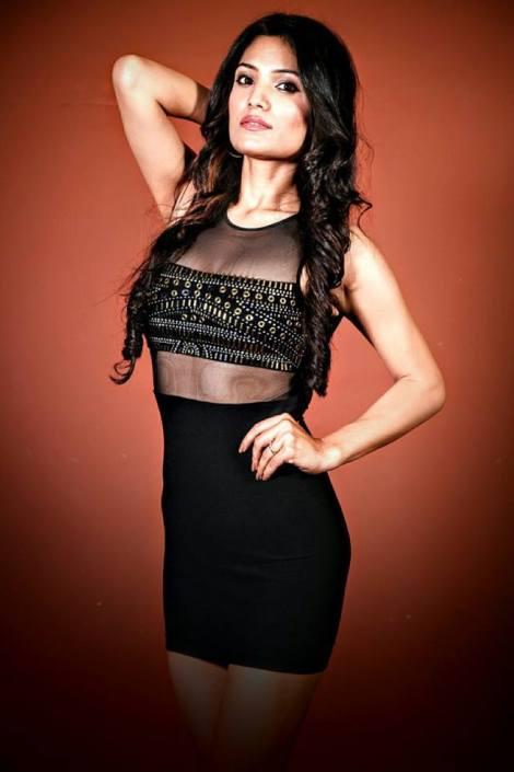 Rinki Ghidiyal is a contestant at Femina Miss India Delhi 2016