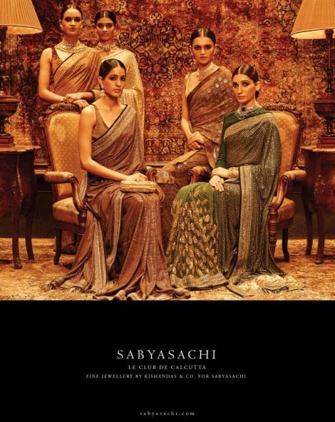 Sabyasachi Mukherjee for Priyanka Chopra