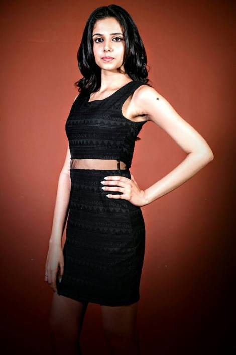 Shivangi Kapoor is a contestant at Femina Miss India Delhi 2016