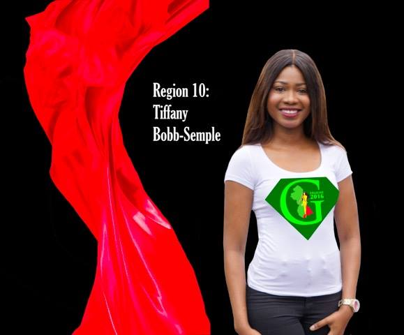 Tiffany Bob Semple  is a contestant of Miss World Guyana 2016