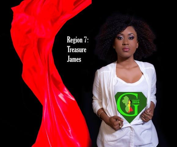 Treasure James  is a contestant of Miss World Guyana 2016
