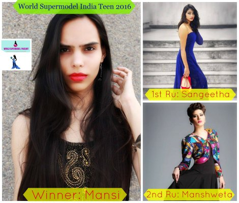 Hotpicks for World Supermodel India 2016