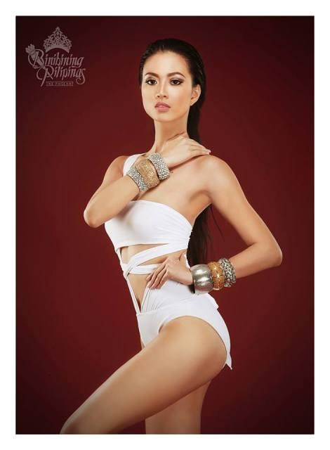 Binibini #10- JESLYN SANTOS during Binibining Pilipinas 2016 Swimsuit portraits