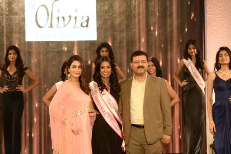Rajkanya Baruah won Olivia Cosmetics Bleach Miss Glowing Skin at Femina Miss India 2016 Sub Contest