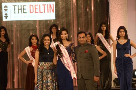 Roshmitha Harimurthy won The Deltin Miss Aqua Queen at Femina Miss India 2016 Sub Contest