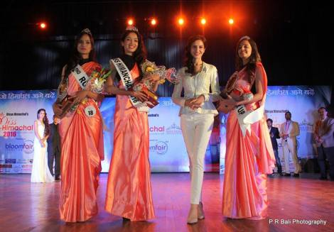 Miss Himachal 2016 winners