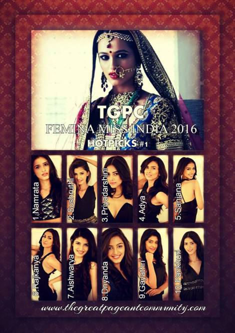 Femina Miss India 2016 Hot-Picks