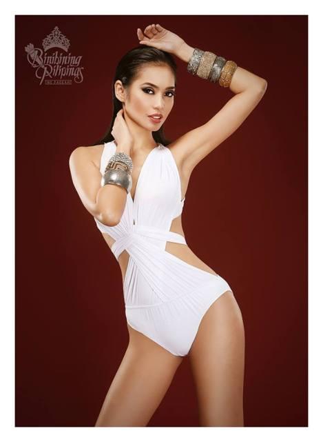 Binibini #14 PAULA RICH BARTOLOME during Binibining Pilipinas 2016 Swimsuit portraits