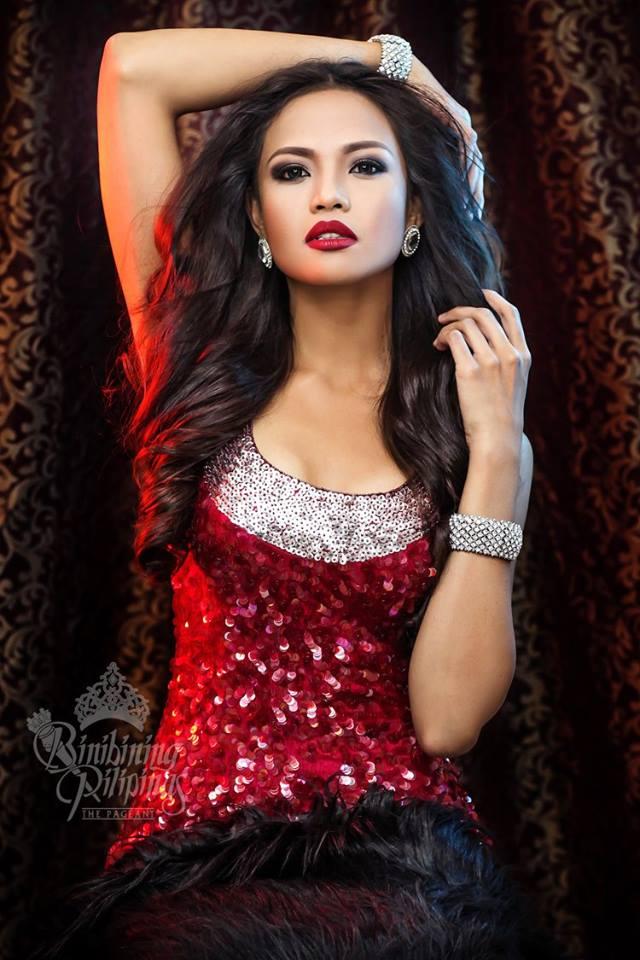 Binibini #16-VINA PRULLA OPENIANO during Binibining Pilipinas 2016 Glam Shots