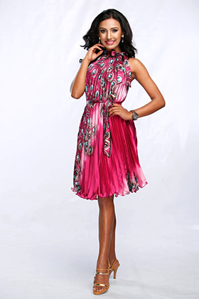 Srijana Regmi is a contestant of Miss Nepal 2016 pageant