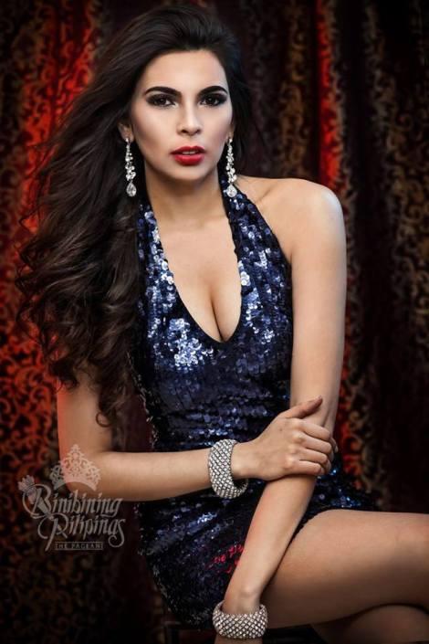 Binibini #17-PRISCILLA KIMBERLEY DELA CRUZ during Binibining Pilipinas 2016 Glam Shots