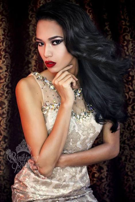 Binibini #18-SHEENA B. DALO during Binibining Pilipinas 2016 Glam Shots