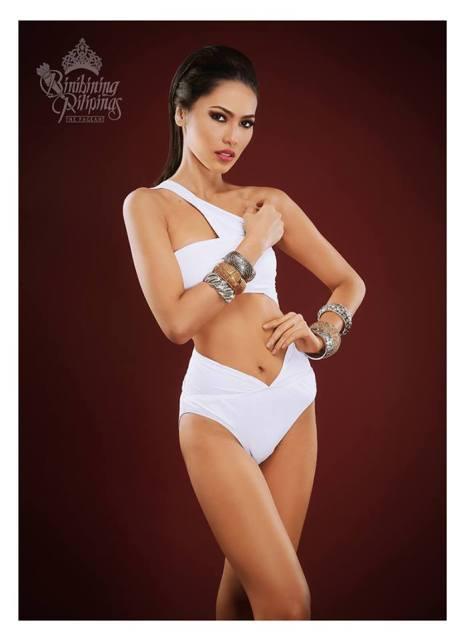 Binibini #19 MARIA LINA N. PRONGOSO during Binibining Pilipinas 2016 Swimsuit portraits