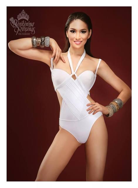 Binibini #21 JESSICA L. GONZALES during Binibining Pilipinas 2016 Swimsuit portraits