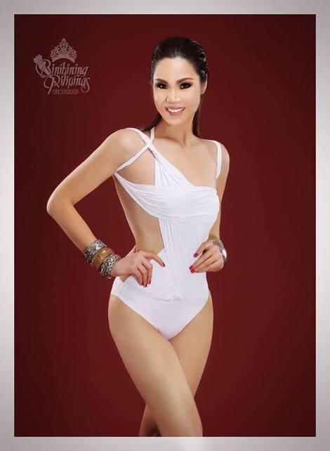 Binibini #24 NIZA SABRINA SOPHIA E. LIMJAP during Binibining Pilipinas 2016 Swimsuit portraits