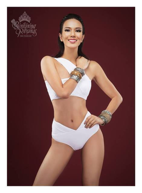 Binibini #26 JENNIFER HAMMOND during Binibining Pilipinas 2016 Swimsuit portraits