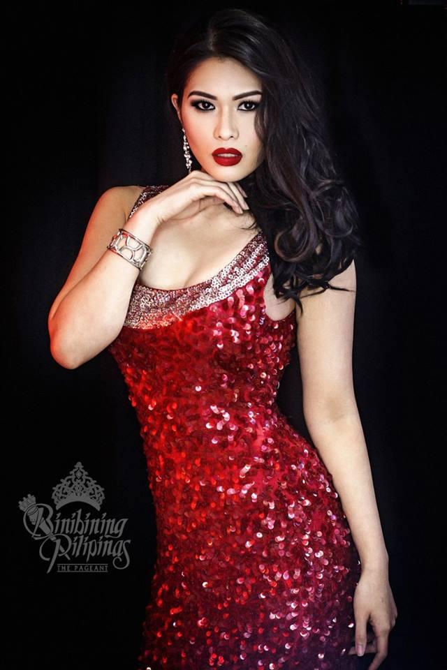 Binibini #3-ANGELA LAUREN D. FERNANDO during Binibining Pilipinas 2016 Glam Shots