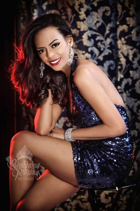 Binibini #35-MARIELLA CASTILLO during Binibining Pilipinas 2016 Glam Shots